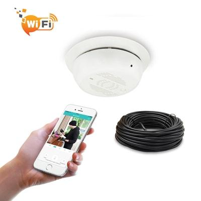 Wifi Smoke Alarm Camera I4spycamera